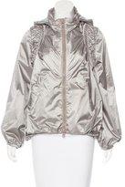 Stella McCartney for Adidas Hooded Windbreaker Jacket