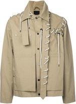 Craig Green lace detail jacket - men - Cotton - S