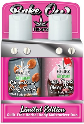 Hempz Limited Edition Bake Off Herbal Moisturizer Duo