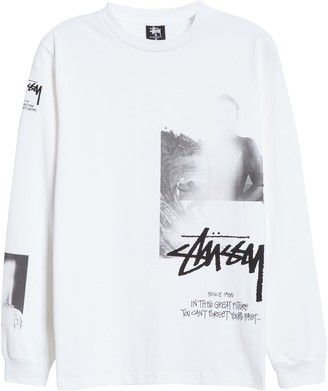 Alyx x Stussy Logo Graphic Long Sleeve Cotton Tee