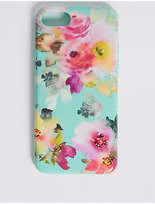M&S Collection iPhone 7 Floral Print Phone Case