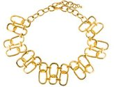 Kenneth Jay Lane Link Collar Necklace