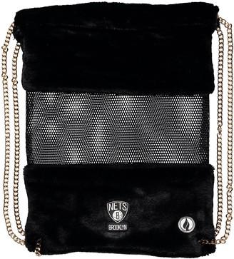 Unbranded Brooklyn Nets Mesh Gold Chain Drawstring Bag