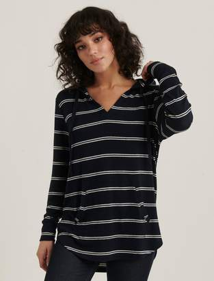 Lucky Brand Striped Cloud Jersey Tunic Pullover