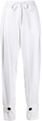 NO KA 'OI Pleat Front Track Trousers
