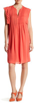 Rebecca Taylor Sleeveless Pleated Silk Dress