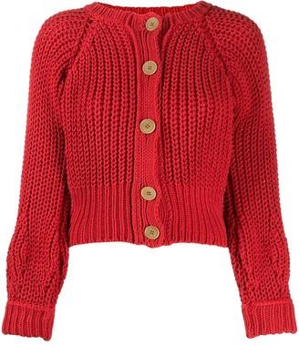 Maison Flaneur chunky knit cardigan