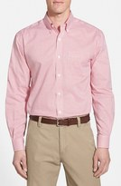 Cutter & Buck Men's 'Epic Easy Care' Classic Fit Wrinkle Free Tattersall Plaid Sport Shirt