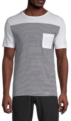 Vintage 1946 Yard Block Stripe T-Shirt