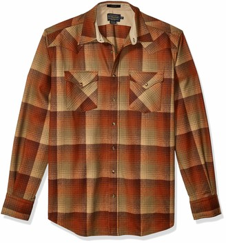 Pendleton Men's Tall Size Big & Tall Long Sleeve Canyon Shirt