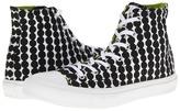 Converse Chuck Taylor All Star Marimekko Premium Hi (Black/White) - Footwear