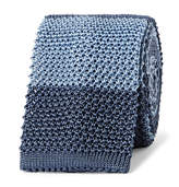 Boglioli 6cm Striped Knitted Silk Tie