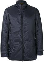 Canali waterproof casual jacket - men - Leather/Nylon/Polyamide/Spandex/Elastane - 48