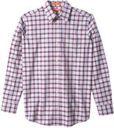Joe Fresh Men's Check Shirt, Bordeaux Red (Size S)