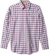 Joe Fresh Men's Check Shirt, Bordeaux Red (Size XL)