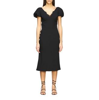 Ermanno Scervino Dress Cady Dress With Lace Details