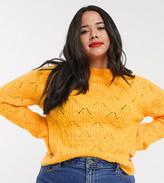 Urban Bliss Plus high neck sweater