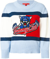 Hilfiger Collection Tommy Cats cropped sweater