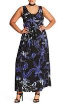 City Chic Plus Size Women's Maxi Dress