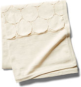 Sefte Paya Crochet Throw, Cream