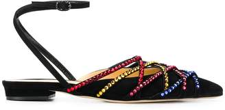 Daisy sling back flat sandals