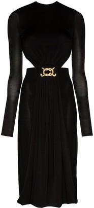 Dodo Bar Or Cutout-Detail Backless Dress