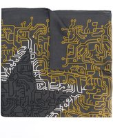 Furla graphic print scarf