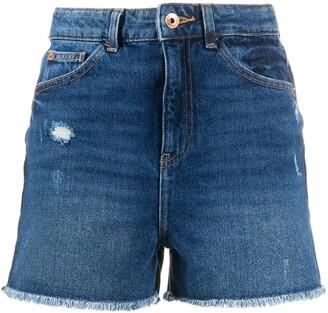 Emporio Armani J32 Slim high-waisted shorts