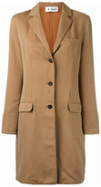 Barena buttoned midi coat - women - Cotton/Linen/Flax/Acetate/Viscose - 42