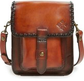 Patricia Nash Lari Vegetable Tanned Leather Crossbody Bag