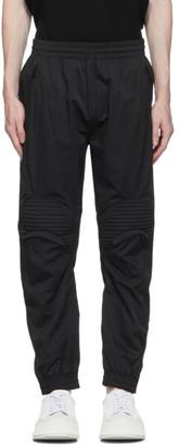 System Black Knee Patch Track Pants