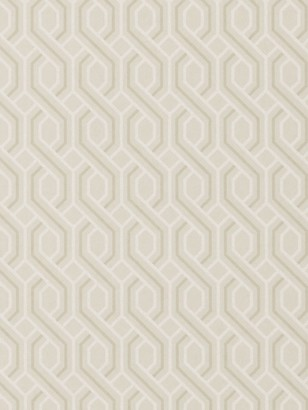 GP & J Baker Boxwood Trellis Wallpaper
