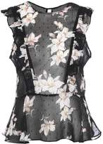 Miss Selfridge DOBBY PEPLUM Blouse multi