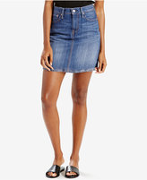 Levi's The Every Day Medium Blue Wash Cotton Denim Skirt