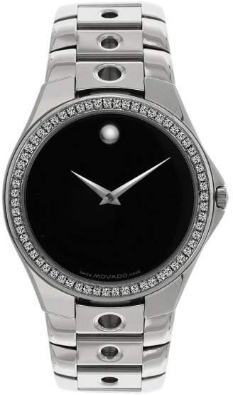 Movado Valeto 84 G1 1890 Stainless Steel Quartz 36mm Mens Watch
