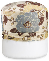 Bed Bath & Beyond Full Bloom Blue Footstool Cover