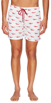 La Perla Printed Costume Swim Trunks