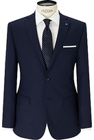Daniel Hechter Textured Tailored Fit Suit Jacket, Navy