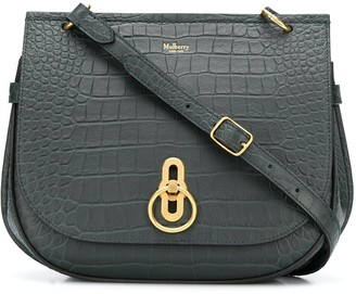 Mulberry Amberley embossed crossbody bag