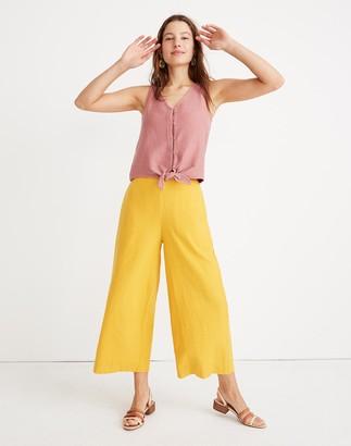 Madewell Tall Huston Pull-On Crop Pants