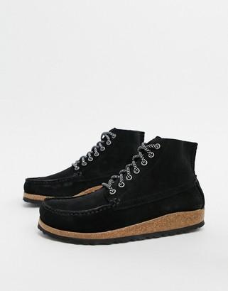 Birkenstock Marton flat ankle boots in black