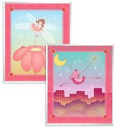 Bed Bath & Beyond Cute Fairies Wall Art (Set of 2)