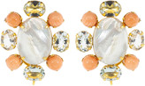 Mother of Pearl Bounkit Jewelry Cluster Earrings