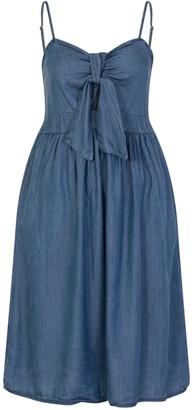 Little Mistress Absum Denim Mini Dress