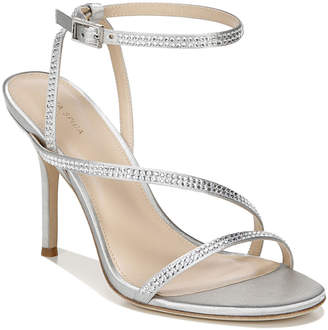 Via Spiga Pavlina3 Heeled Metallic Satin Sandals