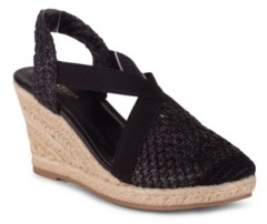Wanted Eden Women's Closed Toe Espadrille Wedge Sandal Women's Shoes