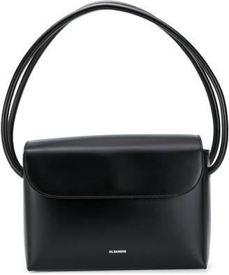 Jil Sander Rounded Double-Handle Bag