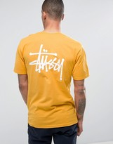 Stussy T-shirt With Small Logo
