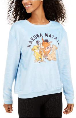 Disney Juniors' Hakuna Matata Plush Sweatshirt