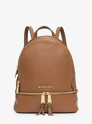 MICHAEL Michael Kors Rhea Medium Leather Backpack